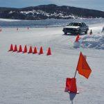 Audi 200 Ice driving