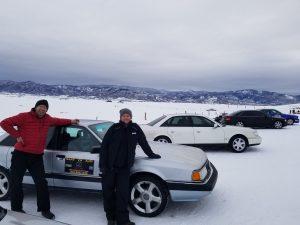 Audi 200 Ice racing
